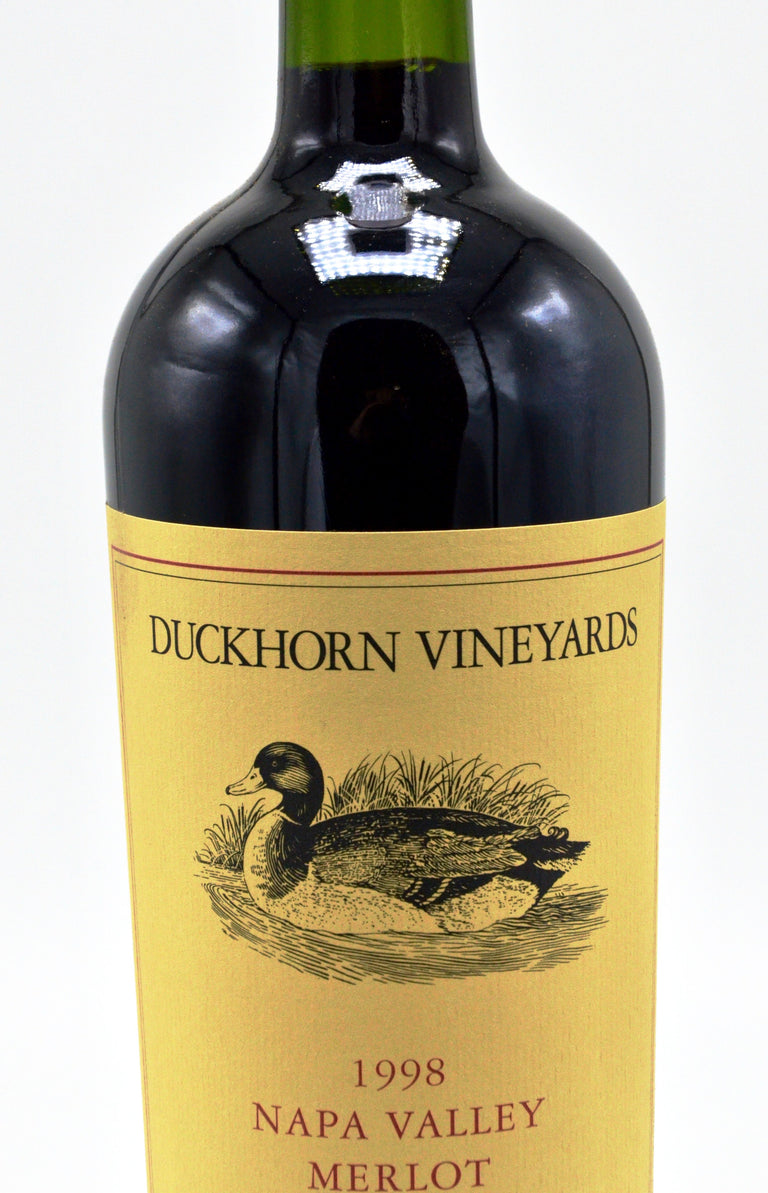 1998 Duckhorn Merlot Three Palms Vineyard, Napa Valley