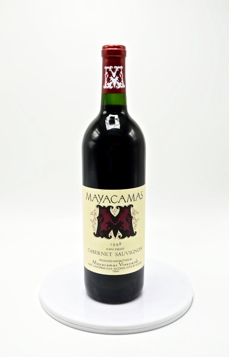 1998 Mayacamas Vineyards Cabernet Sauvignon, Napa Valley