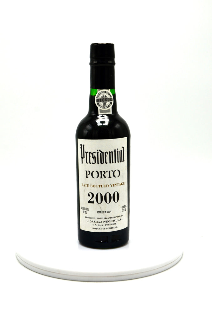2000 Presidential Vintage Port, Late Bottled Vintage (half bottle)