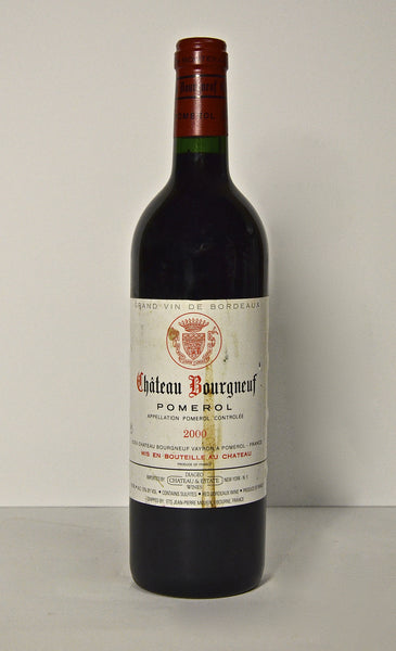2000 Chateau Bourgneuf Pomerol