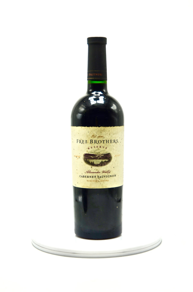 2001 Frei Brothers Reserve Cabernet Sauvignon Alexander Valley