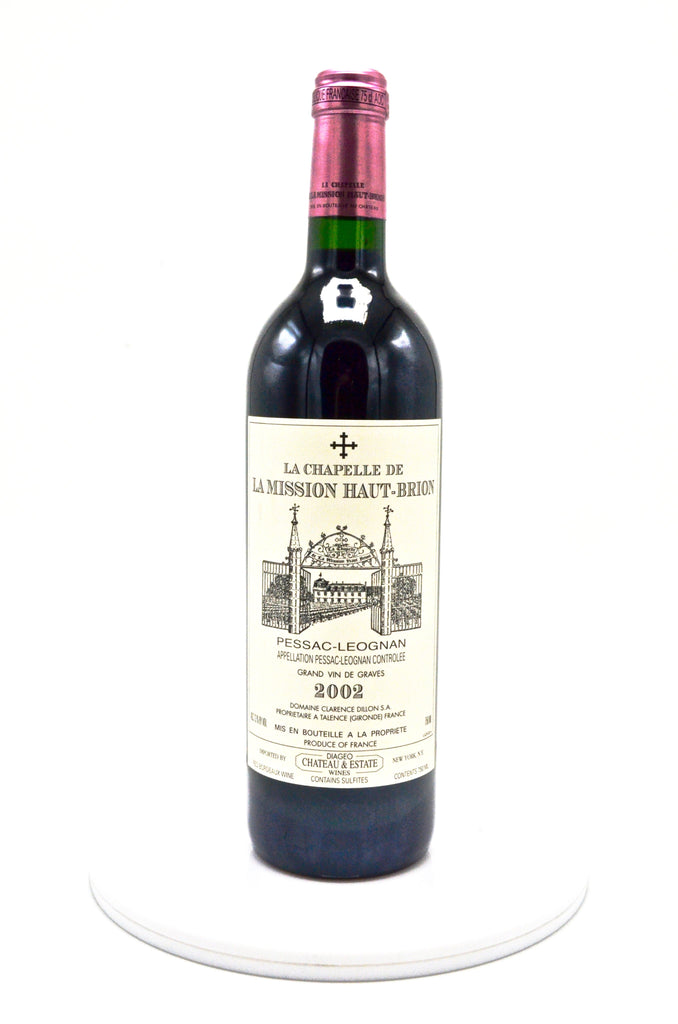 2002 La Chapelle de la Mission Haut Brion, Pessac-Leognan (La Mission's 2nd)