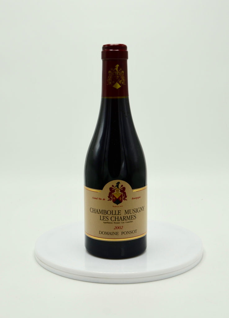 2002 Domaine Ponsot Les Charmes, Chambolle-Musigny (half-bottle)