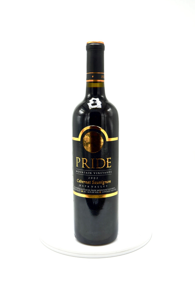 2002 Pride Mountain Vineyards Cabernet Sauvignon