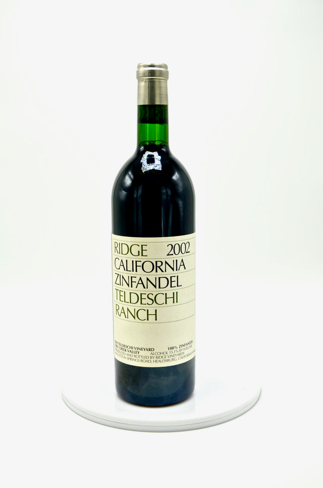 2002 Ridge Vineyards Zinfandel, Teldeschi Vineyard