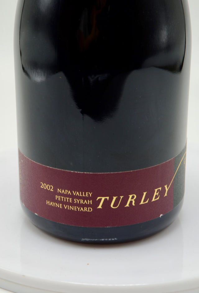 2002 Turley Wine Cellars Petite Sirah, Hayne Vineyard