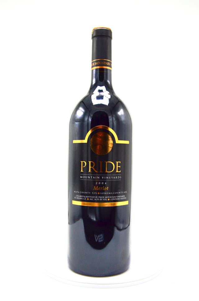 2004 Pride Mountain Vineyards Merlot (magnum)