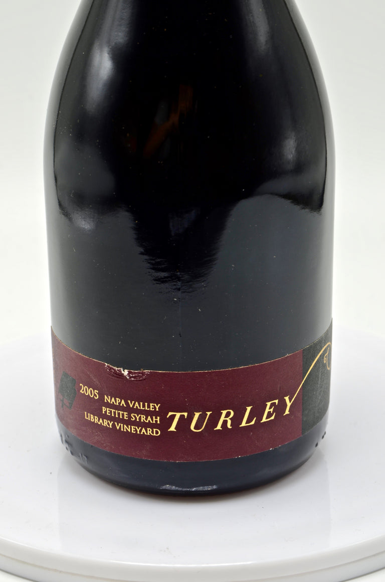 2005 Turley Wine Cellars Petite Sirah, Library Vineyard