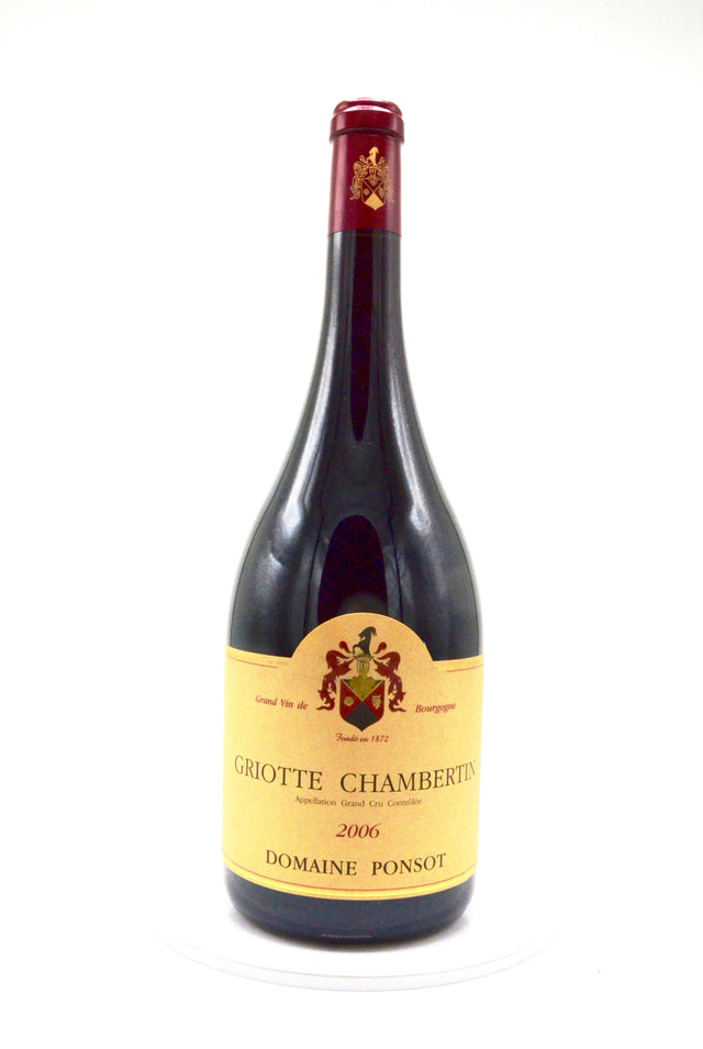 2006 Domaine Ponsot Griotte-Chambertin Grand Cru, Cote de Nuits (magnum)