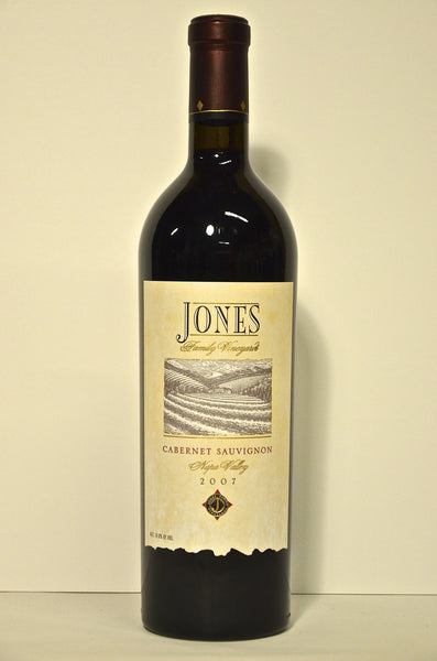 2007 Jones Family Cabernet Sauvignon Napa Valley