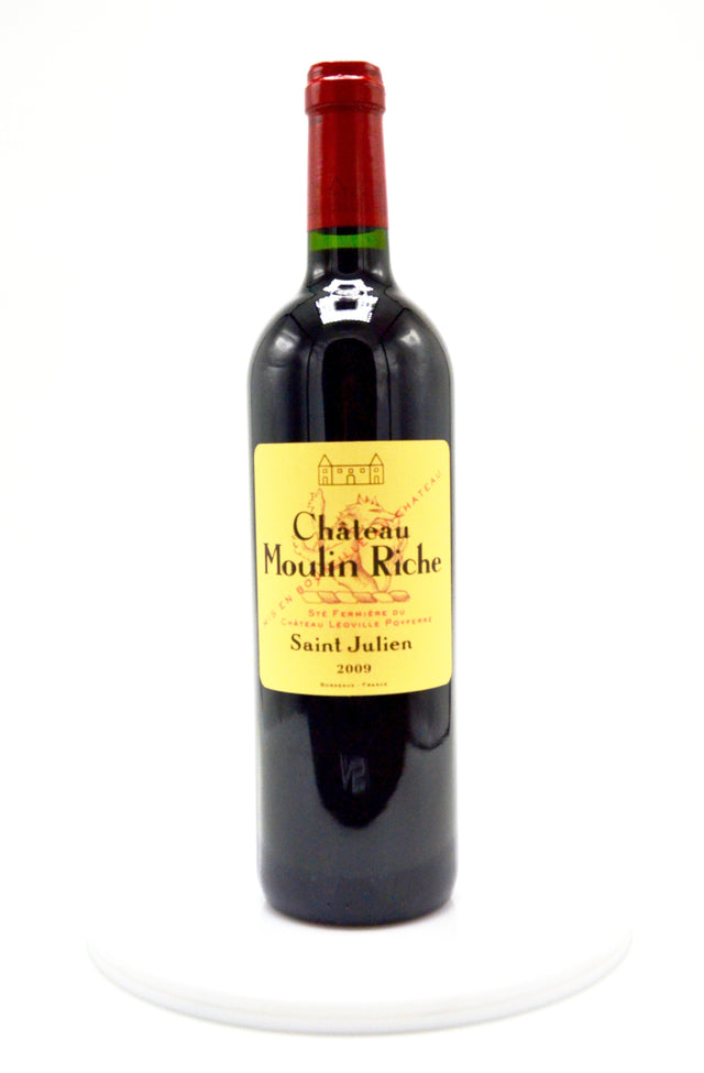 2009 Chateau Moulin Riche-St. Julien (Léoville Poyferré's 2nd)