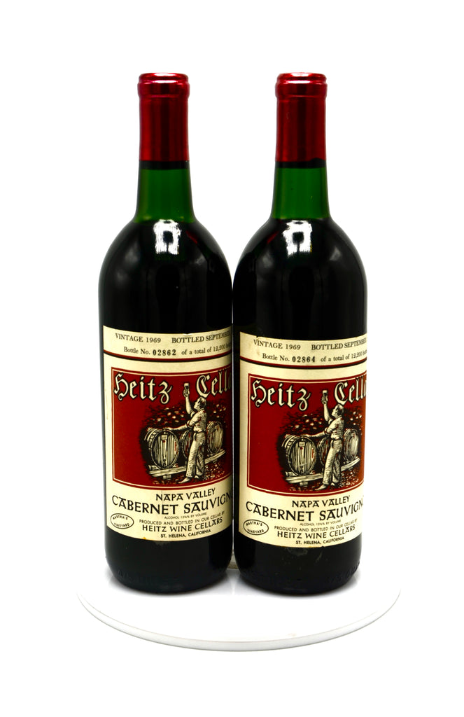 1969 Heitz Cellars Cabernet Sauvignon, Martha's Vineyard, Napa Valley