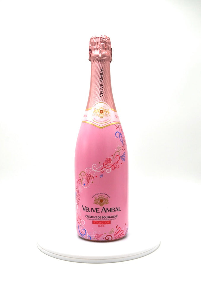 NV Veuve Ambal Brut, Cremant de Bourgogne Rosé Collection