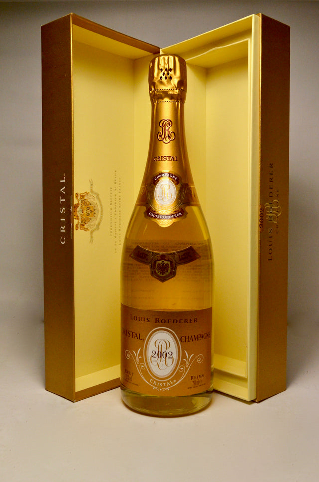 2002 Louis Roederer Cristal Brut Champagne (In Gift Box)