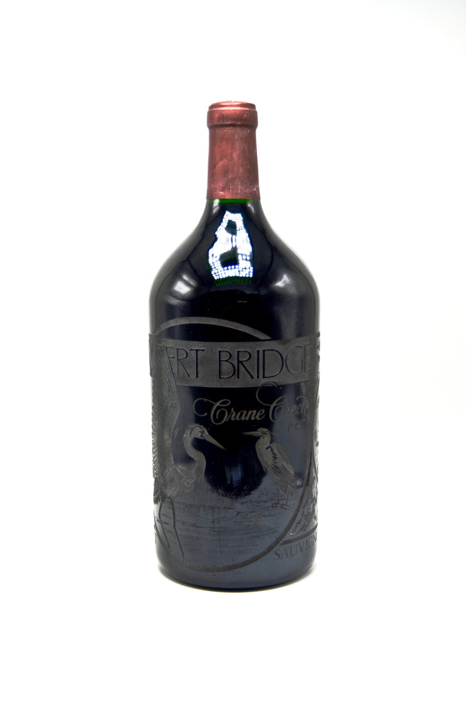 1987 Lambert Bridge Crane Creek Cuvee Cabernet Sauvignon, Engraved (Double-Magnum)