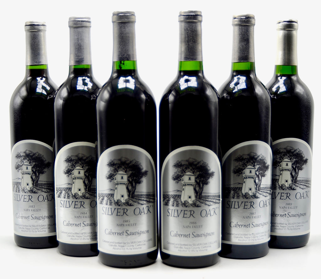1983-1988 Silver Oak Cabernet Sauvignon Vertical, Napa Valley [Collection of 6 btls]