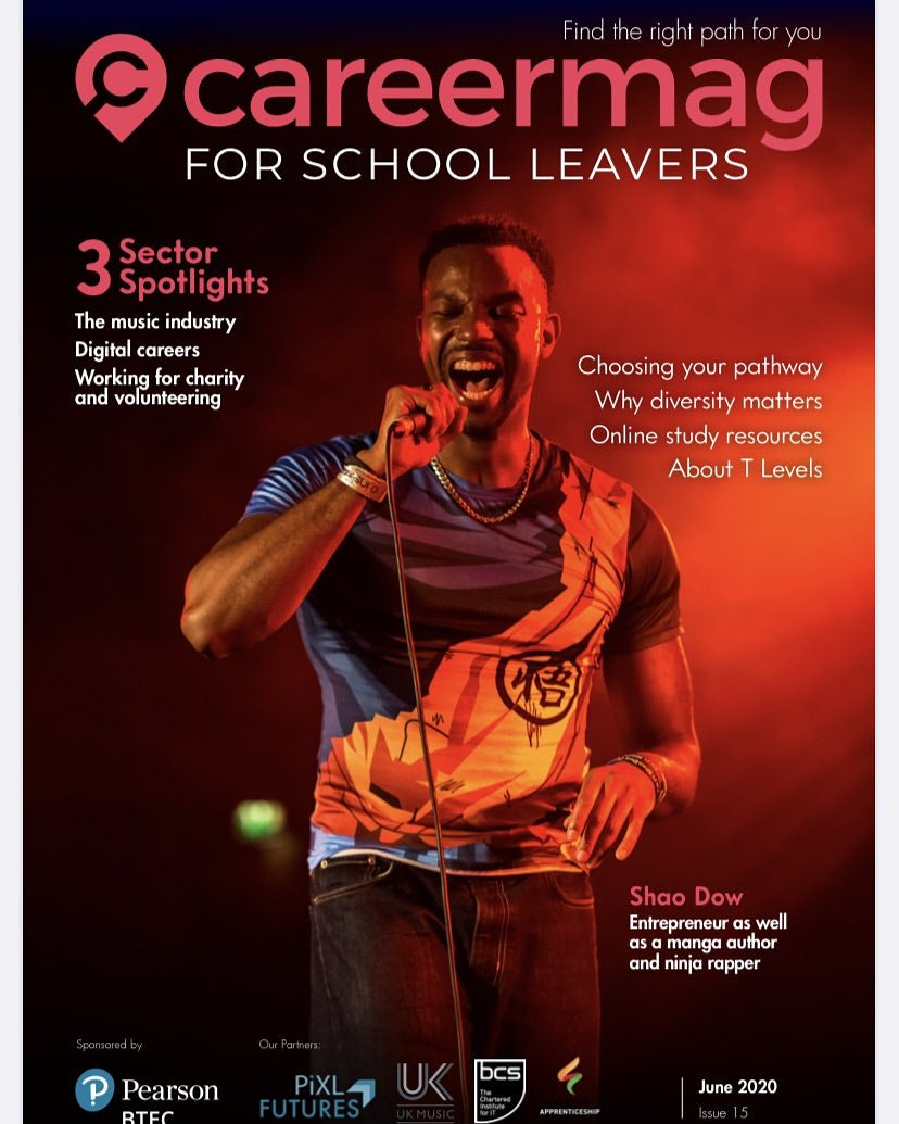 Shao Dow - Career Mag for School Leavers