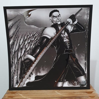 Sephiroth Foil Art Print - Signed - Shao Dow - The DiY Gang Store