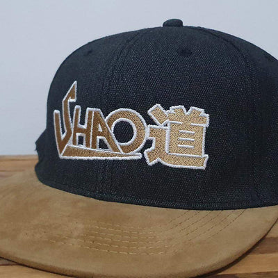 Shao道 Denim & Suede Peak SnapBack - Shao Dow - The DiY Gang Store