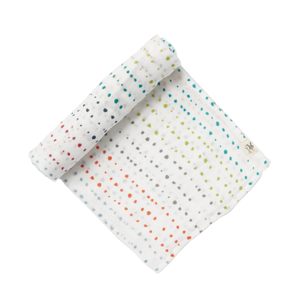Painted Dots Swaddle