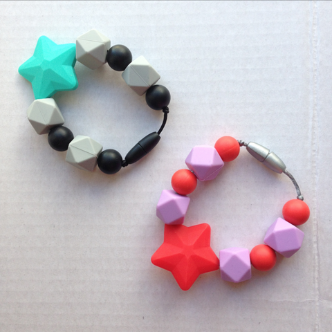 Shooting Stars Teething Ring