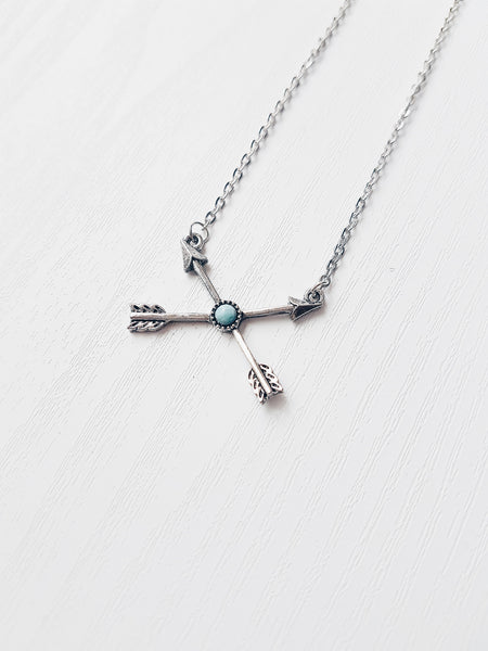 Arrow Turquoise Necklace