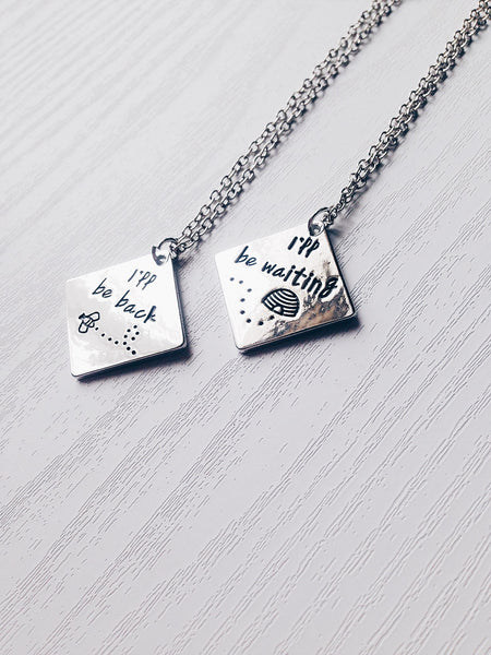 Long Distance Necklace Set