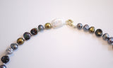 Assorted Colourful pearl Necklace - Chic and Individualistic