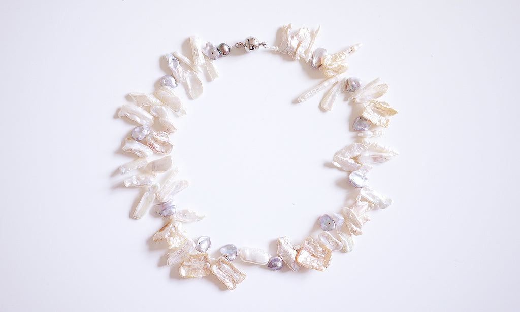 mm baroque jewelry white fashion daimi item pearl wholesale unique bracelet luster full shiny irregular freshwater shaped shape pearls price design strand natural