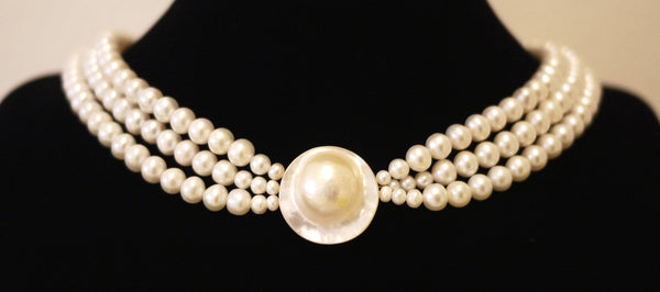 Royal Collection Mabe Pearl Choker 皇家马贝珍珠颈链