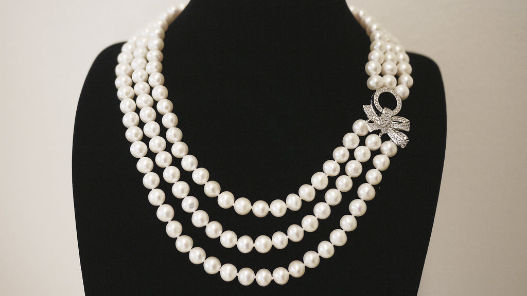 Classic Lady Catherine Necklace  凯瑟琳经典珍珠项链