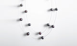 Assorted Chocolate Necklace – A 2-row Chic Piece of Elegance
