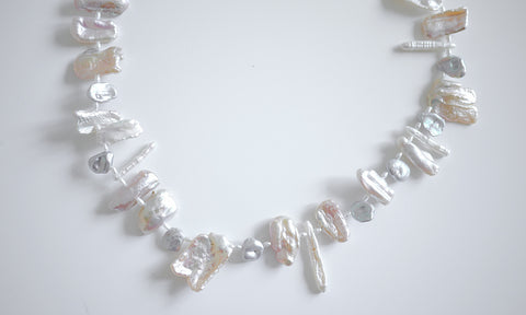 Assorted Pearls – Irregular-shaped Freshwater Pearls Necklace