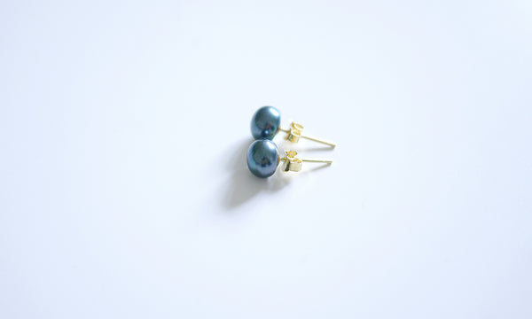 Tahiti Green Basic Ear-studs