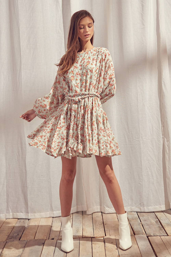 Millie Floral Mini Dress