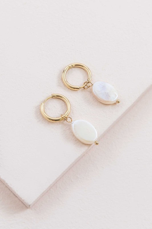 Simple Stone Ring - White