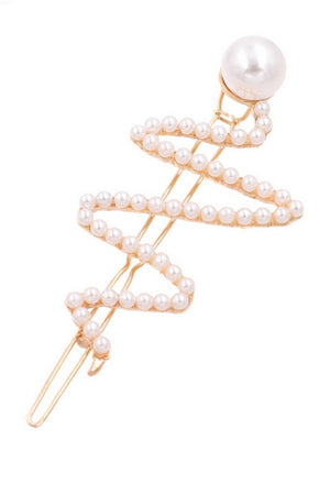 Cream Pearl Hair Pin