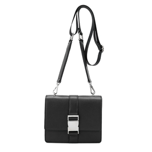 Stalking Gia Black Convertible Crossbody Belt Bag