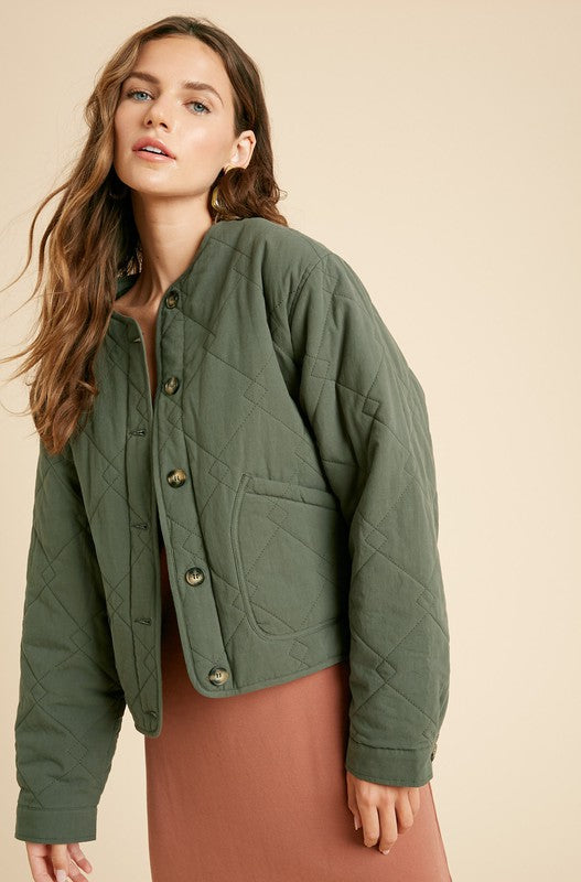 Forest Quilted Jacket