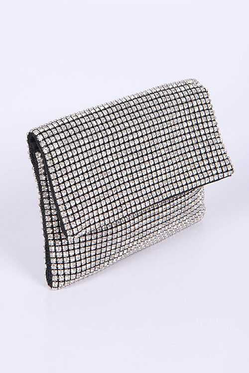 Rhinestone Iconic Soft Swing Bag
