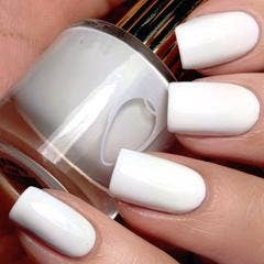 Mrs. Tony Montana - White Nail Polish