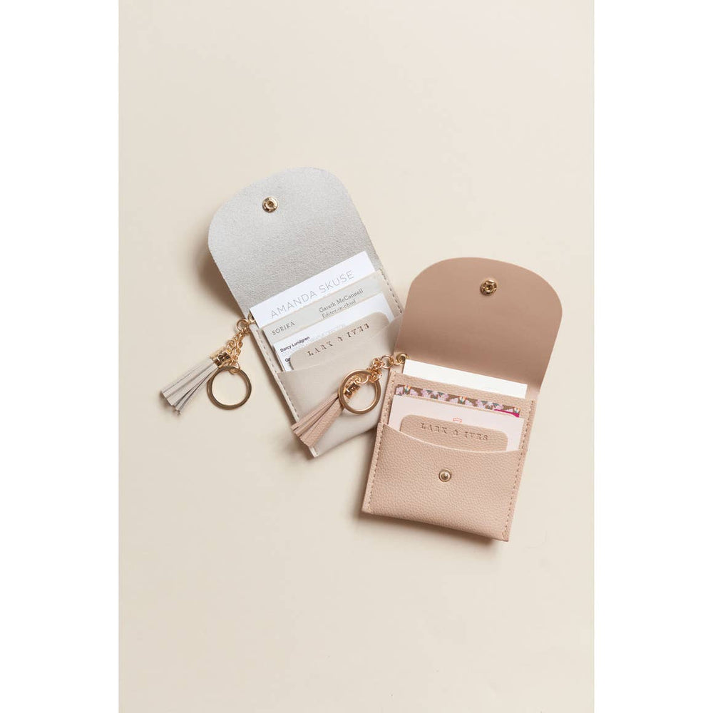 Card Purse Wisp Grey