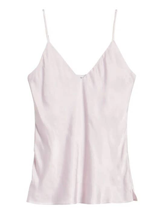 Claire Bias Satin Cami - Orchid Ice