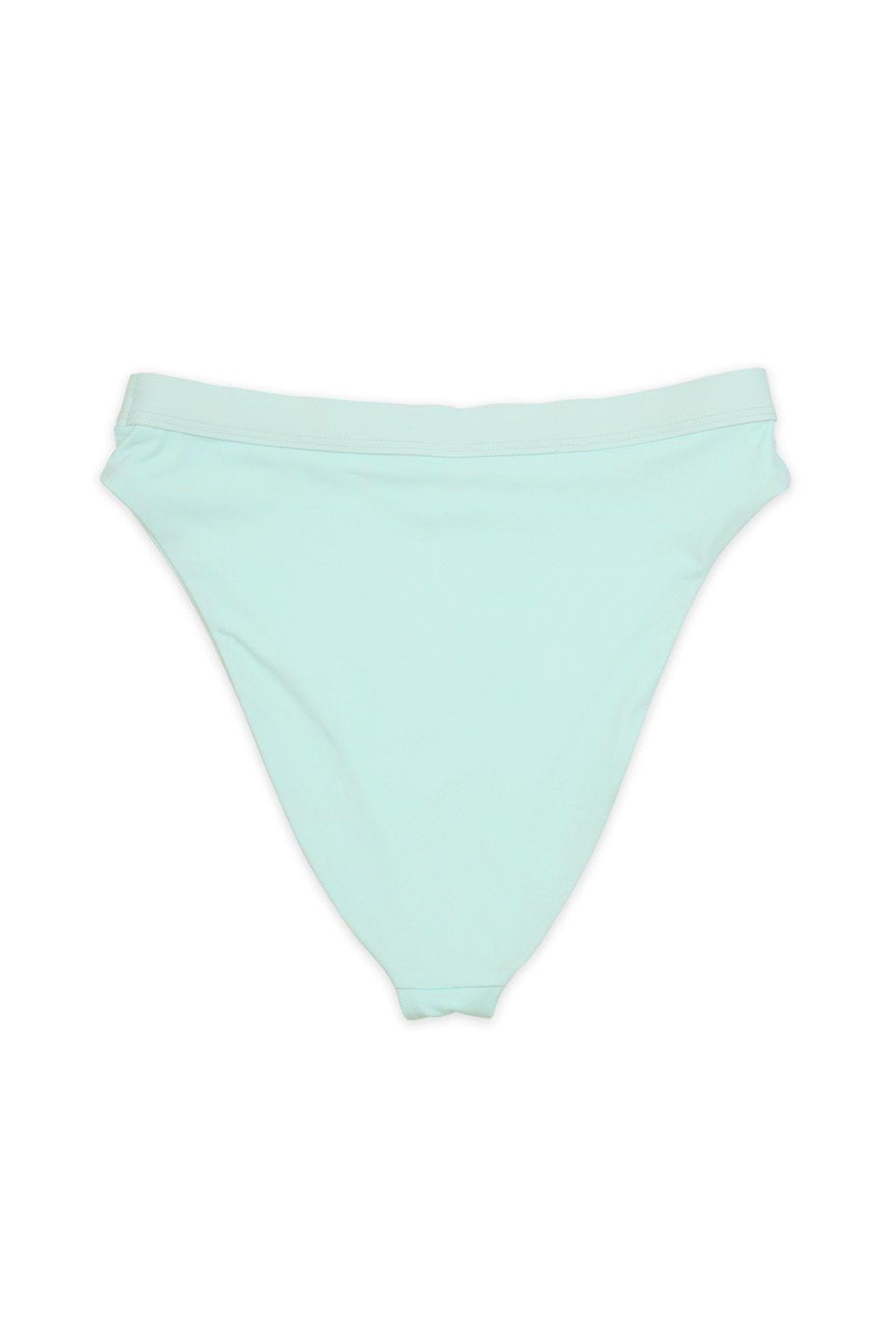 Seamless Cheeky Hi Waist Banded Bottom in Mint