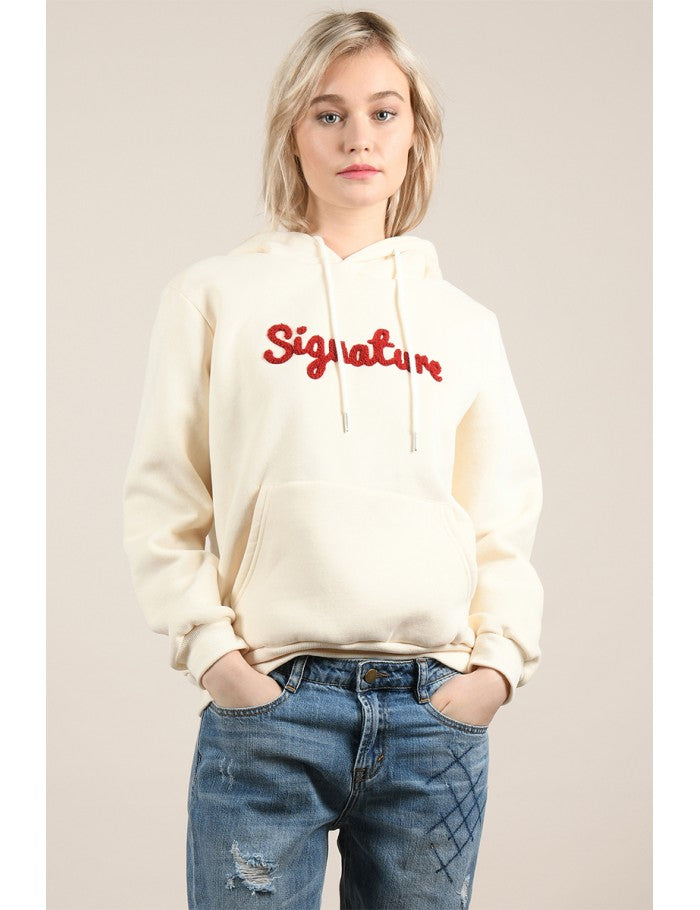 Signature Embroidered Hoodie