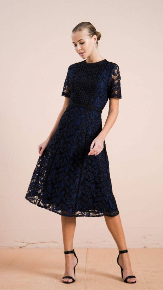 Angela Lace Midi Dress