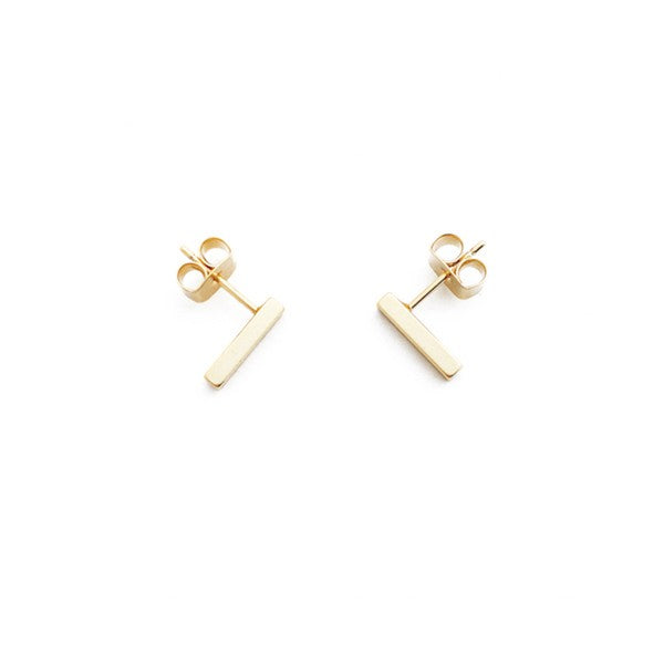 Mini Drop Bar Earrings