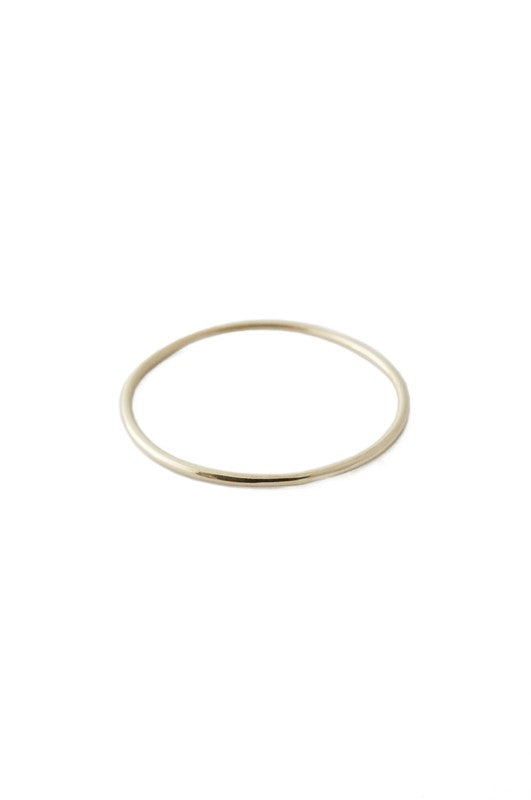 Solid 14k Gold Ring