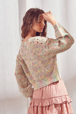 Rainbow Pastel Sweater