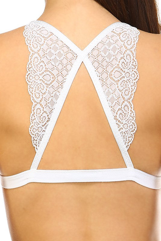 Angel Wing Lace Bralette
